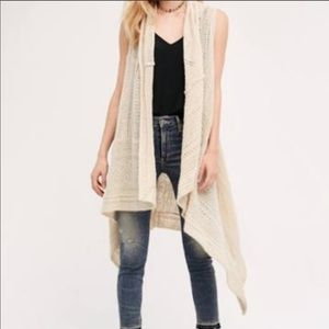 Anthro Angel of the North Lua pointelle sweater